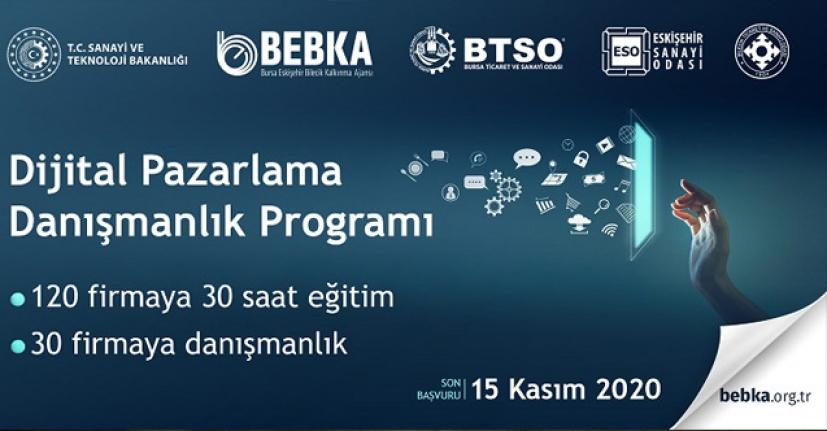 BEBKA'dan, Dijital Pazarlama Danışmanlık programı