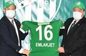 Bursaspor'un şapka sponsoru Emlakjet