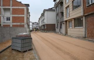 Karlıova sokak ulaşıma açılıyor
