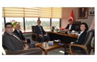 BEBKA Genel Sekreteri Doç.Dr. Durak'a hayırlı olsun ziyareti