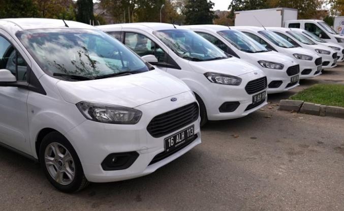 Osmangazi'ye yeni araçlar